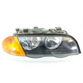 BMW E46 phase 1 n°67 optique de phare avant droit