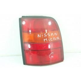 NISSAN MICRA n°122 Feux arrière gauche conducteur