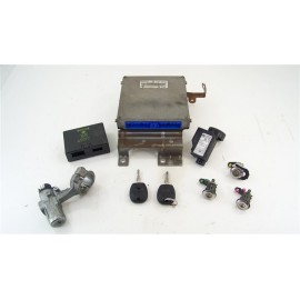 NISSAN MICRA 1.0 i 55cv année 2000 n°5 calculateur bsi + antenne + puce de clef