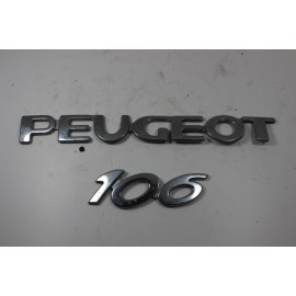 PEUGEOT 106 n°15 Insigne de coffre