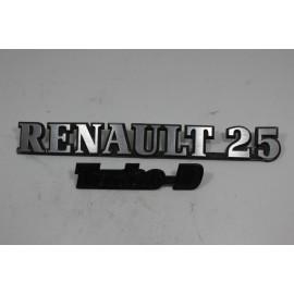 RENAULT 25 2.1 TD 7700758506 n°21 Insigne coffre