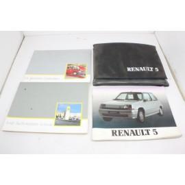 RENAULT 5 n°6 pochette auto d'origine