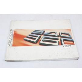 VOLVO 340/360 n°11 pochette auto d'origine