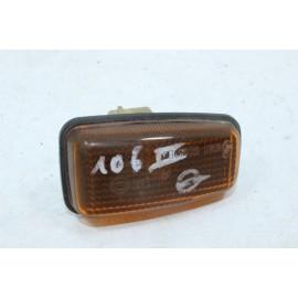 PEUGEOT 106 phase 2 01.91081 n°26 Unité d'indicateur clignotant de côté d'aile gauche