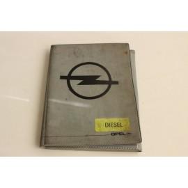 OPEL Corsa B 1.7 D n°13 pochette auto d'origine